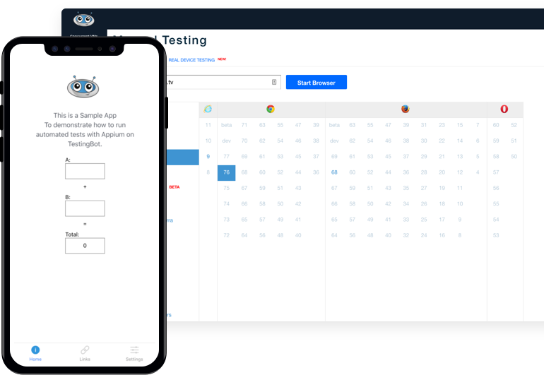Test Web en direct