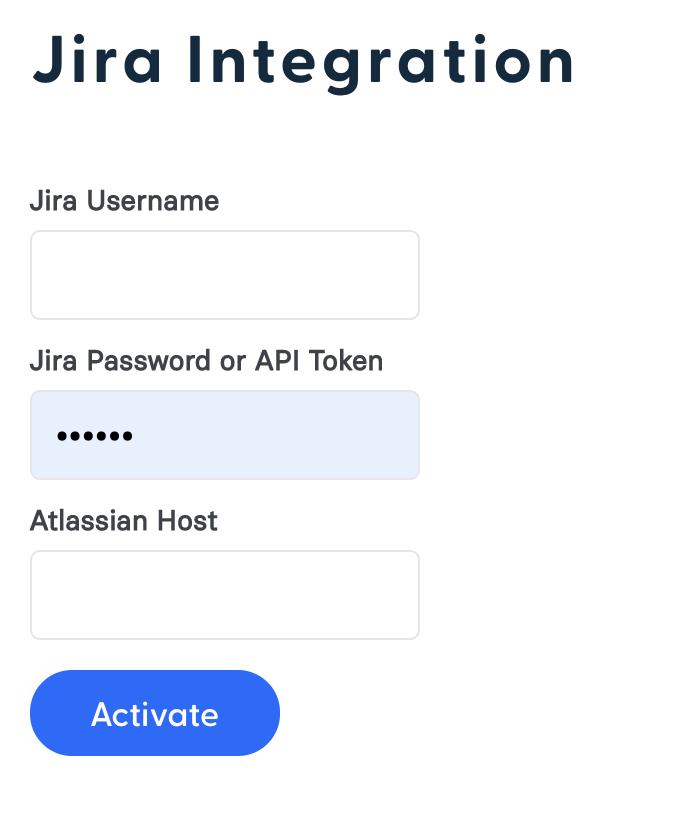 Jira Integration