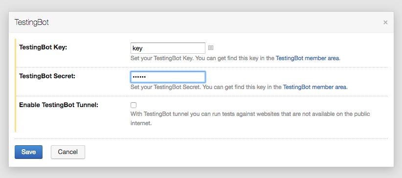 TeamCity integration